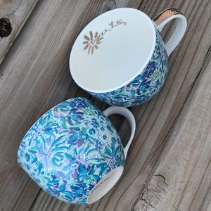 Lilly Pulitzer Cups